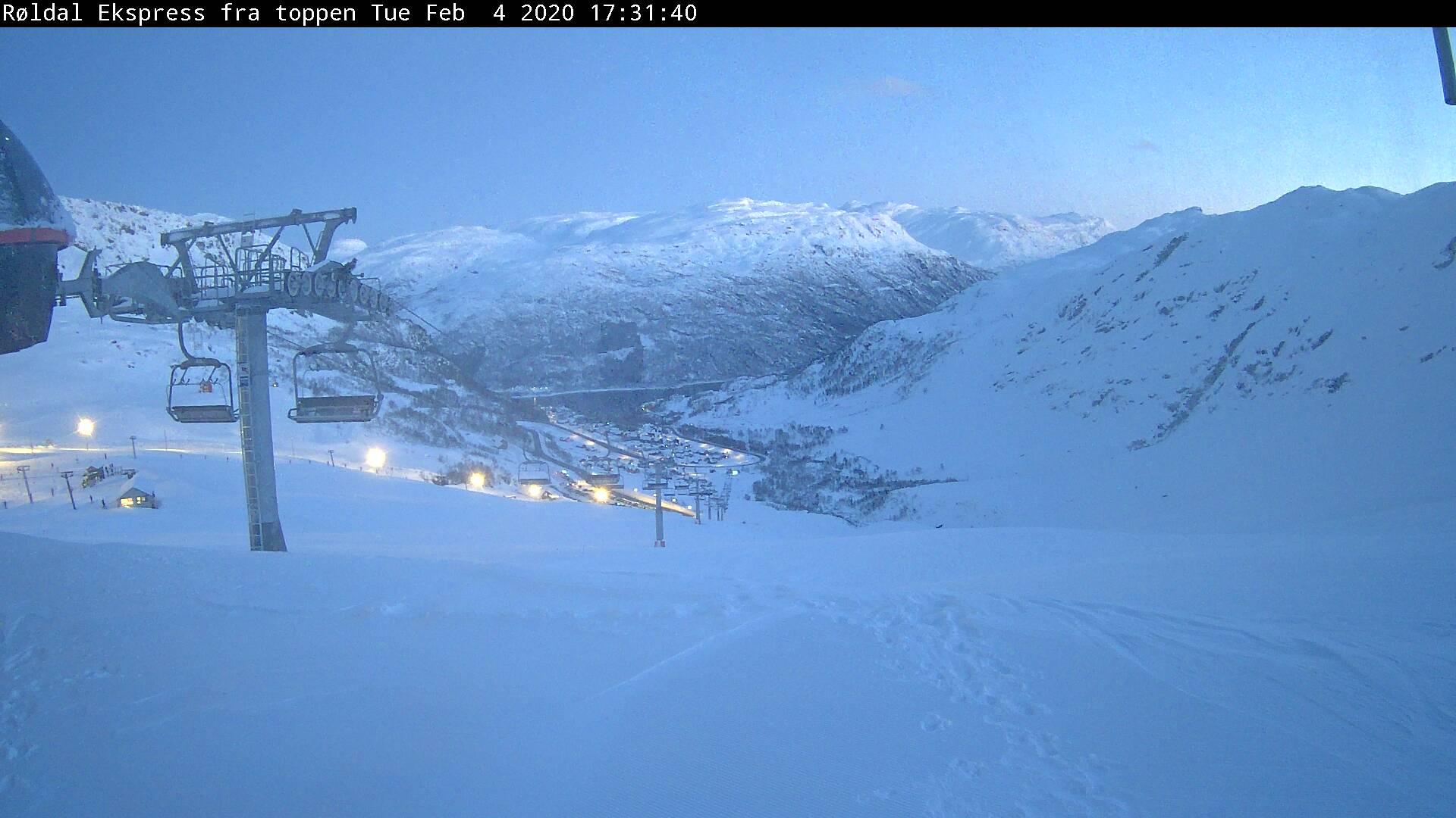 Røldal Skizentrum / Norwegen